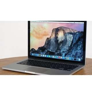 ONE DAY OLD BRAND NEW MACBOOK PRO 2015 RETINA EARLY