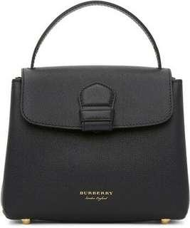 Burberry Camberley Black Leather Bag