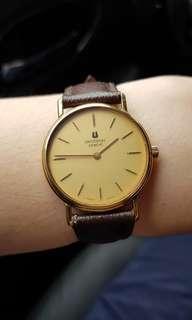 Universal Geneve Swiss Made Gold Watch