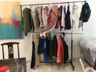 Clothes Hanger adjustable metal