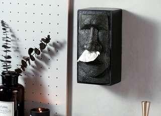 (預購)摩艾石像鼻涕面紙盒