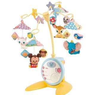 【預購】日本   迪士尼:ABS+PP+POM+SBS+滌綸+尼龍*幼兒~遊戲玩具組(對象年齡:0個月以上/電力支援:七號鹼性電磁(需自備)/尺寸:约W530×H580×D550mm/重量:約2公斤)_免運。