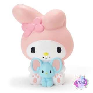 日版 Sanrio My Melody Squeeze Mascot 美樂蒂軟綿綿發洩公仔