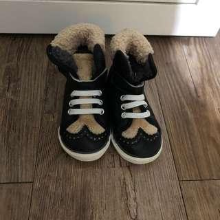 男女童毛毛boots