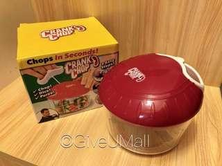 聖誕大減價!美國crank chop 手拉切菜器