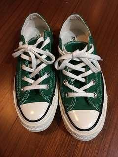 Converse1970 綠色低筒