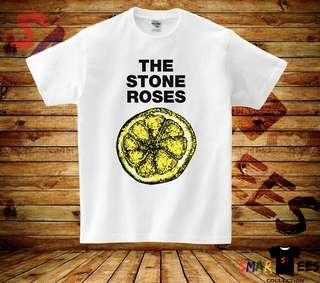 The Stone Roses - White T-shirt