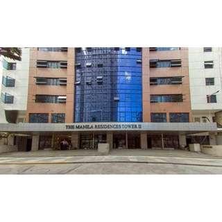Resale 1 Bedroom with 1 Parking Condo at Manila Residences Tower II in Taft Avenue Malate Manila near Dela Salle University