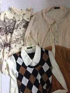 vintage retro tops and dresses