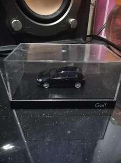 Dark blue Golf Car Miniature #my1212