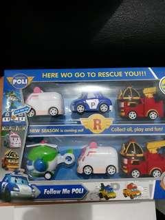Mainan Robocar pullback