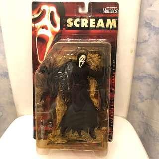 奪命狂呼 SCREAM Figure 絕版 電影 玩具