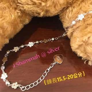 🚚 925純銀(白k金)珠寶等級成色手鍊