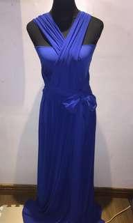 Blue Infinity Gown