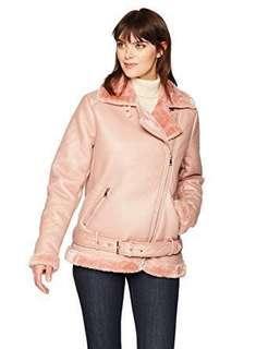 Glamorous (UK Brand) Aviator Pink Jacket