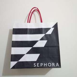 Sephora SMALL Paperbag PRELOVED like NEW