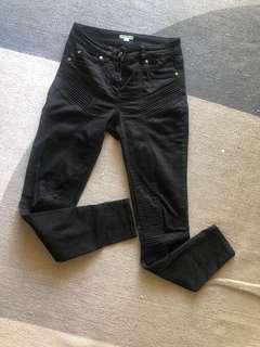 Kookai Black Denim Jeans size 34