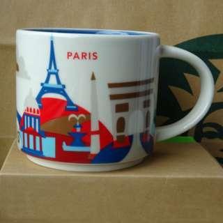 (Paris) Starbucks Coffee Mug YOU ARE HERE COLLECTION 星巴克 咖啡杯 Starbuck