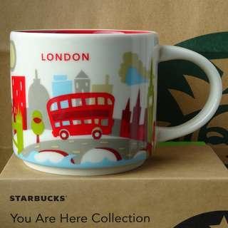 (London) Starbucks Coffee Mug YOU ARE HERE COLLECTION 星巴克 咖啡杯 starbuck