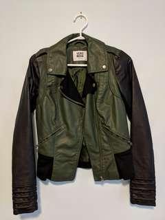 Vero Moda Leather Jacket XS