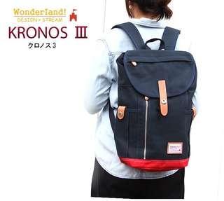 Original Japan Wonderland! Kronos 3 Backpack