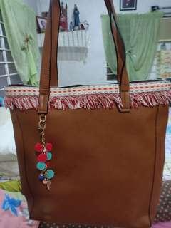 Bohemian Faux-Leather Bag