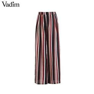 NEW - Striped Wide Leg Pants