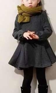 Brand new mink velvet dress