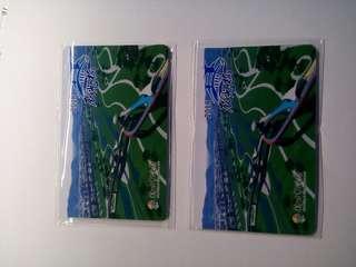🚚 2018限量特製辰光橋紀念悠遊卡(2張)