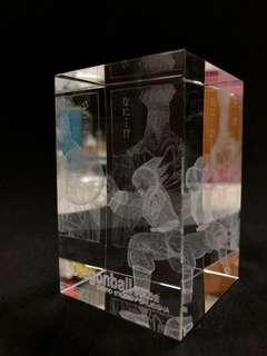 龍珠3D水晶飾品(青年悟空),JumpShop限定。