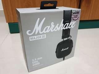 Marshall Headphone Major 3 wired