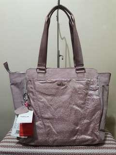 Kipling Julienne Blush Pink Tote Bag