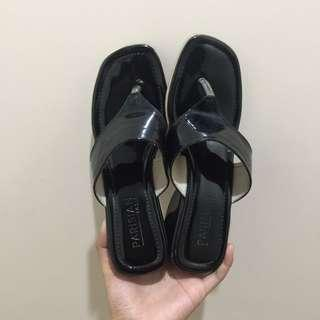Parisian Black Sandals