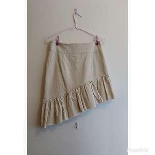 韓國製米白色裙