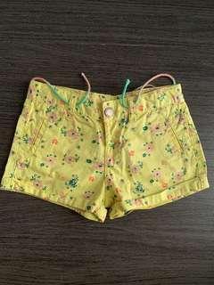Zara Baby Floral Shorts