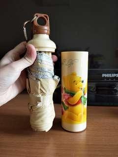 Winnie the pooh umbrella / disney / umbrella in a bottle [XMAS gift idea]