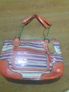 Coach preloved shoulder bag m1269 23843