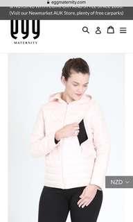 Nursing puffer jacket