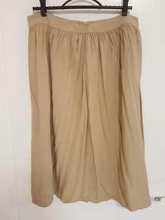 Forever 21 Beige Skirt