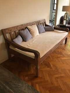 Antique teak Day Bed Sofa