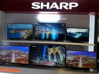 SHARP tv sets On SALE! 32inch to