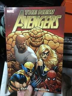 New avengers volume 1 and 2