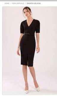 Doublewoot Danifis Black Dress BNWT XS