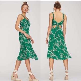 Green Tied Dress