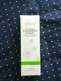 Make up remover gel cleansing and moist