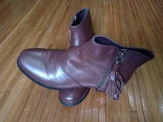 Bonia leather boots