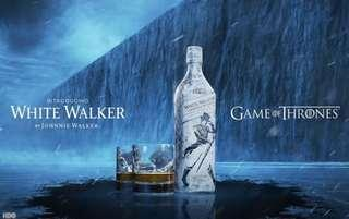 JOHNNIE WALKER white winter 1L game of thrones limited