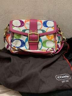 Authentic coach bag,100real,99%new