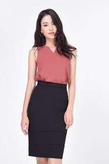 Fayth Kayce Top in Rosewood - Size XS
