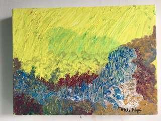 Original Acrylic Painting by Melo Ngai